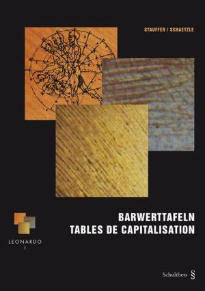 Barwerttafeln & Kapitalisieren (Beide Bände zusammen Deutsche Ausgabe)-7594
