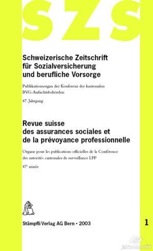 SZS/RSAS 2003-0