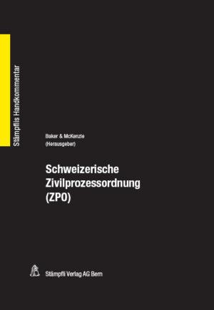 Schweizerische Zivilprozessordnung (ZPO)-0