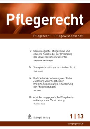 Pflegerecht 2013-0