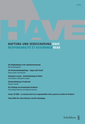 HAVE/REAS 2013-0