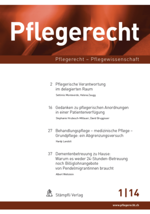 Pflegerecht 2014-0