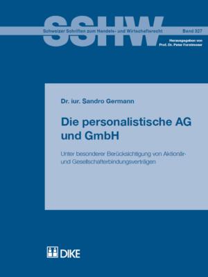 Die personalistische AG und GmbH-0