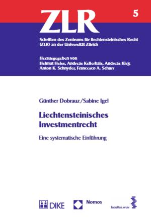 Liechtensteinisches Investmentrecht-0