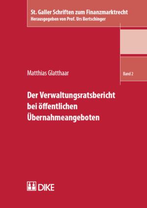 Der Verwaltungsratsbericht bei öffentlichen Übernahmeangeboten-0