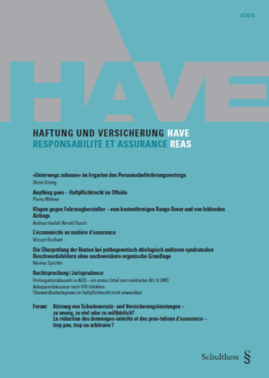 HAVE/REAS 2014-0