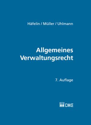 Allgemeines Verwaltungsrecht, 7. Auflage-0