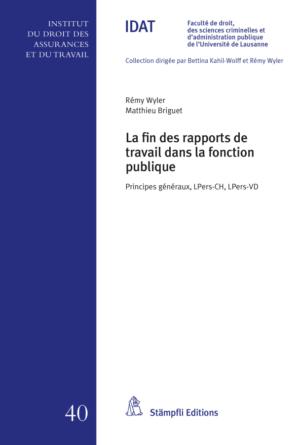 La fin des rapports de travail dans la fonction publique-0