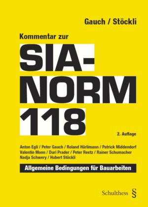 Kommentar zur SIA-Norm 118, 2. Aufl.-0
