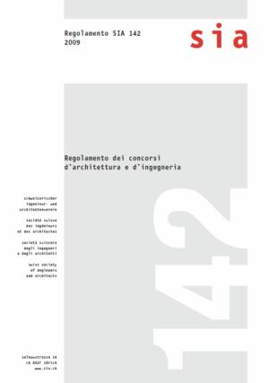 SIA142 - Regolamento dei concorsi d'architettura e d'ingegneria-0