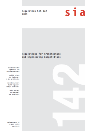 SIA142 - Regulations for Architecture and Engineering Competitions-0