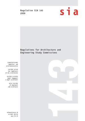 SIA143 - Regulations for Architecture and Engineering Study Commission-0