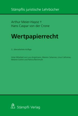 Wertpapierrecht, 3. Aufl.-0