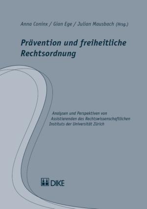 Prävention und freiheitliche Rechtsordnung-0