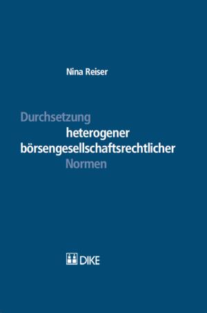 Durchsetzung heterogener börsengesellschaftsrechtlicher Normen-0