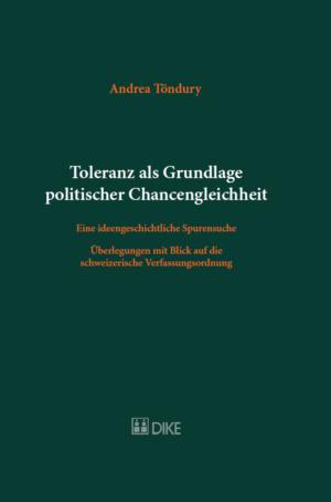 Toleranz als Grundlage politischer Chancengleichheit-0