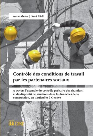 Contrôle des conditions de travail par les partenaires sociaux-0