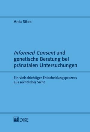 Informed Consent und genetische Beratung bei pränatalen Untersuchungen-0