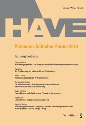 Personen-Schaden-Forum 2019-0