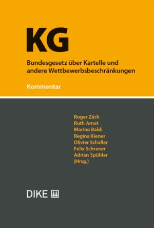 KG. Kommentar zum Bundesgesetz über Kartelle und andere Wettbewerbsbeschränkungen-0