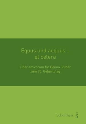 Equus und aequus - et cetera-0