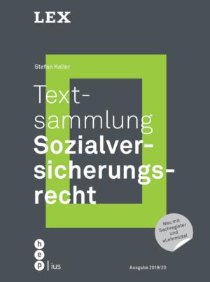 Textsammlung Sozialversicherungsrecht, 2. Aufl.-0