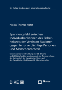 Spannungsfeld zwischen Individualsanktionen des Sicherheitsrats der Vereinten Nationen gegen terrorverdächtige Personen und Menschenrechten-0
