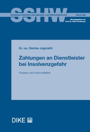 Zahlungen an Dienstleister bei Insolvenzgefahr-0