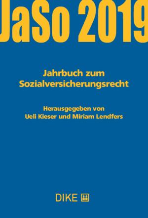 Jahrbuch zum Sozialversicherungsrecht 2019-0