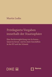Privilegierte Vergaben innerhalb der Staatssphäre-0
