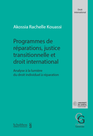 Programmes de réparations, justice transitionnelle et droit international-0
