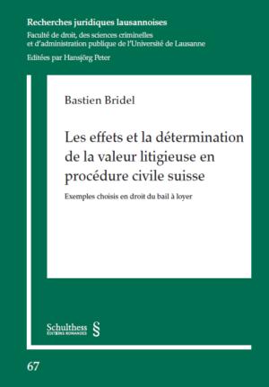 Les effets et la détermination de la valeur litigieuse en procédure civile suisse-0