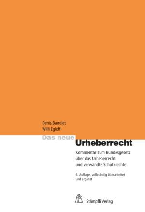 Das neue Urheberrecht, 4. Aufl.-0