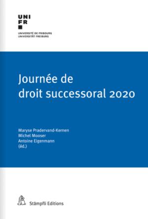 Journée de droit successoral 2020-0