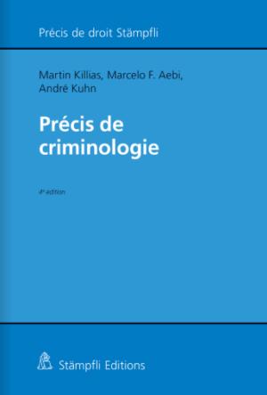 Précis de criminologie, 4e éd.-0