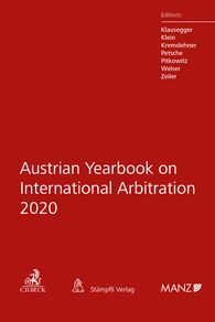 Austrian Yearbook on International Arbitration 2020-0