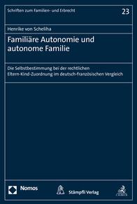 Familiäre Autonomie und autonome Familie-0